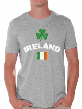 d080c26f419167 Product Image Awkward Styles St Patrick Day Shirt Ireland T Shirt for Men  Irish Flag Vintage Men s Shirt