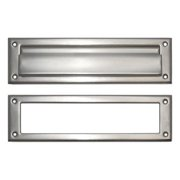 Brass Accents  A07-M0070  Letter  Mail Slot  Mail Slot  ;Satin Nickel