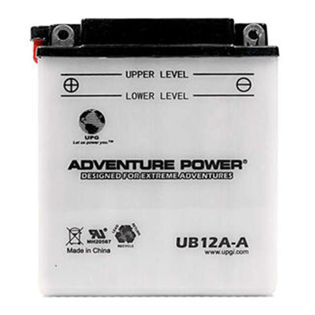 UPG 42001 UB12A-A, Conventional Power Sports Battery