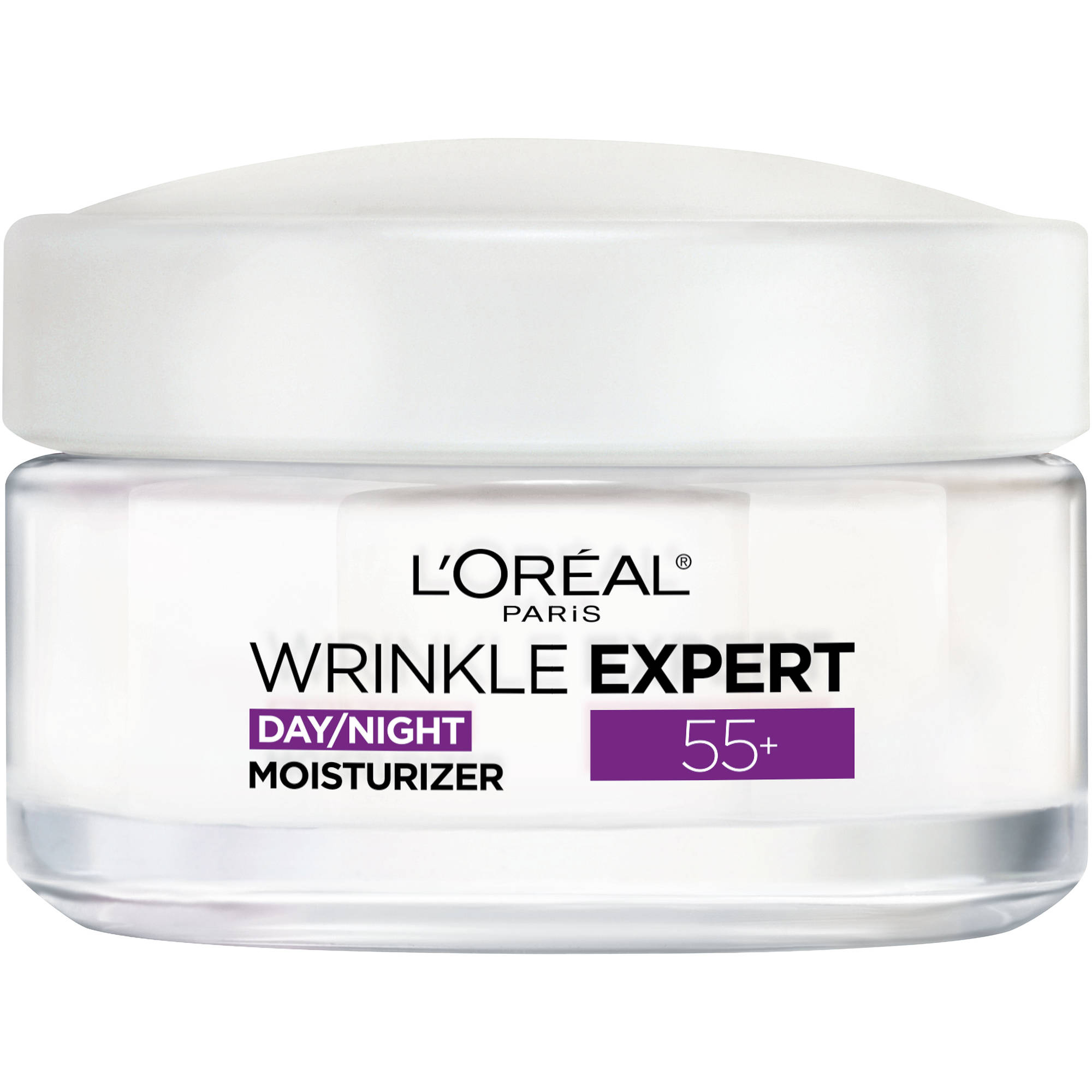 L'Oreal Paris Wrinkle Expert 55+ Day/Night Moisturizer, 1.7 oz