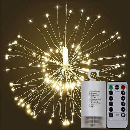 fairy string led bouquet shape fireworks lights 100 led battery powered copper wire twinkle. Black Bedroom Furniture Sets. Home Design Ideas