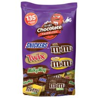 135-CT Mars Chocolate Variety Mix Halloween Candy Bars Deals