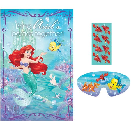Little Mermaid Party Game (Each) - Party Supplies - The Little Mermaid Party Theme