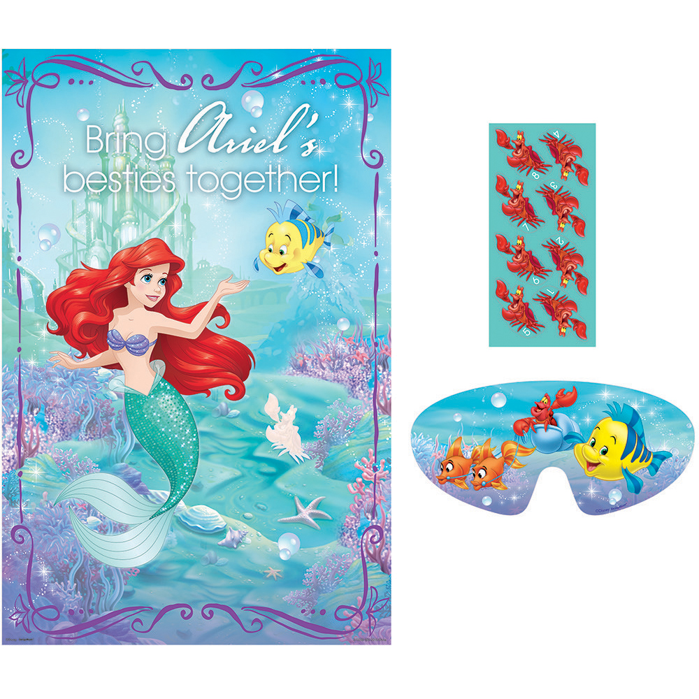 Little Mermaid Party Game (Each) - Party Supplies