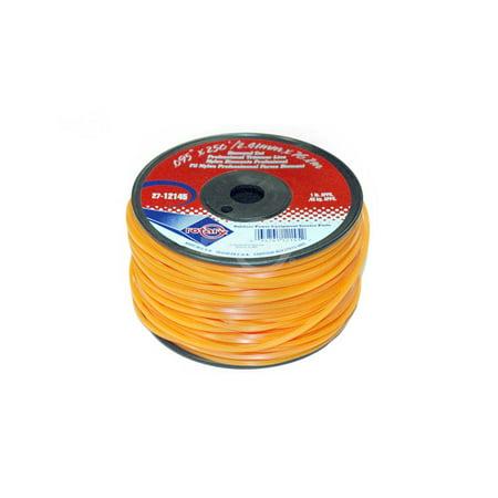Trimmer Line .155 1 LB Small Spool. Diamond Cut Professional Trimmer Line. ()