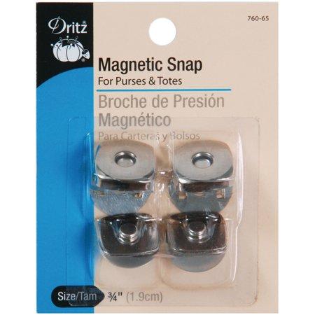 Dritz Square Magnetic Snaps, .75