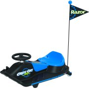 Crazy Cart Shift by Razor - 12 Volt Electric Powered Drifting Ride-On with New Top Speed Switch