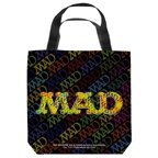 Mad So Much Mad Tote Bag White 18X18