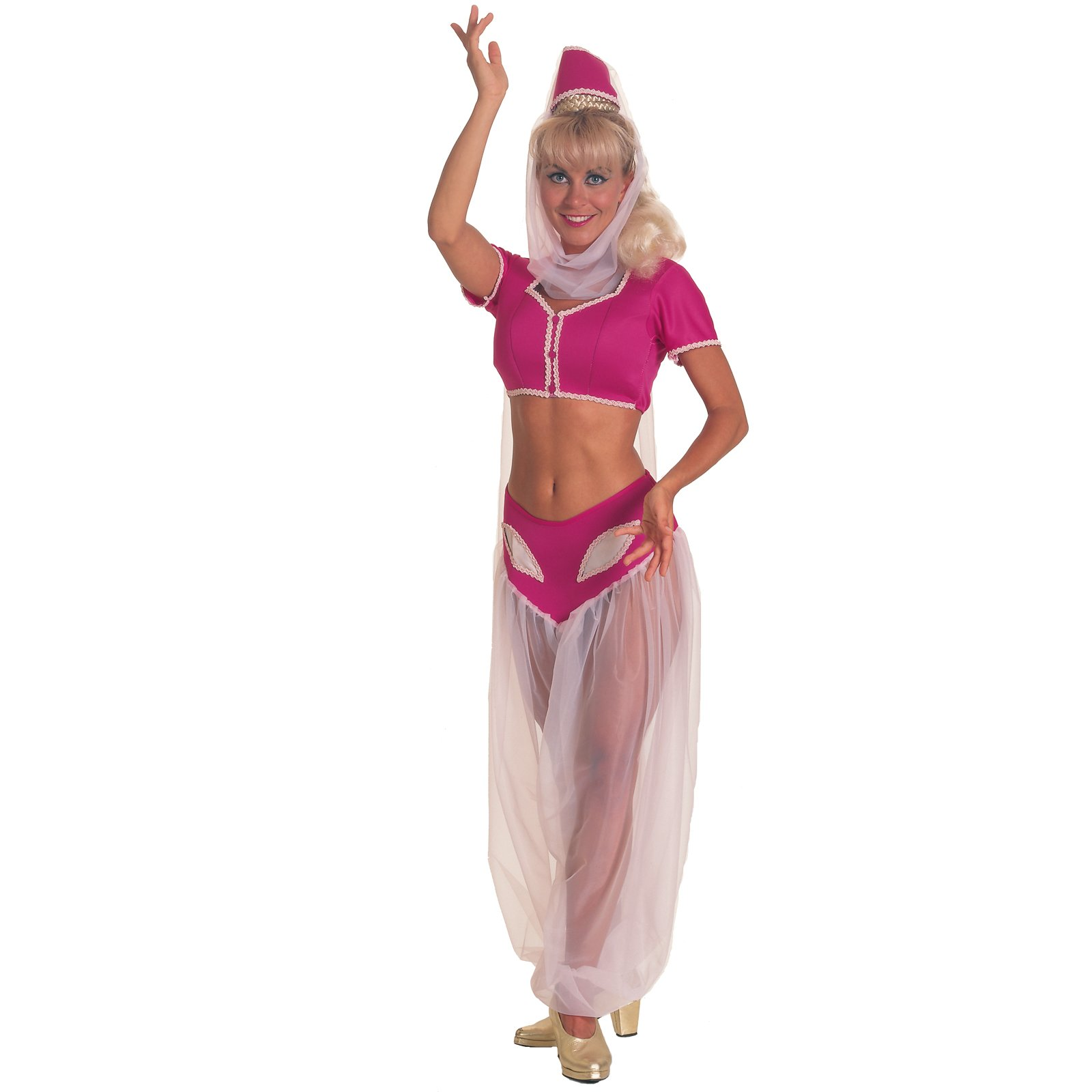 I Dream of Jeannie Adult Halloween Costume - One Size Up to 12