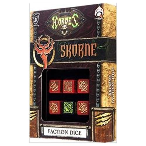 Q-Workshop SPHO54 Hordes Skorne Dice Set 6