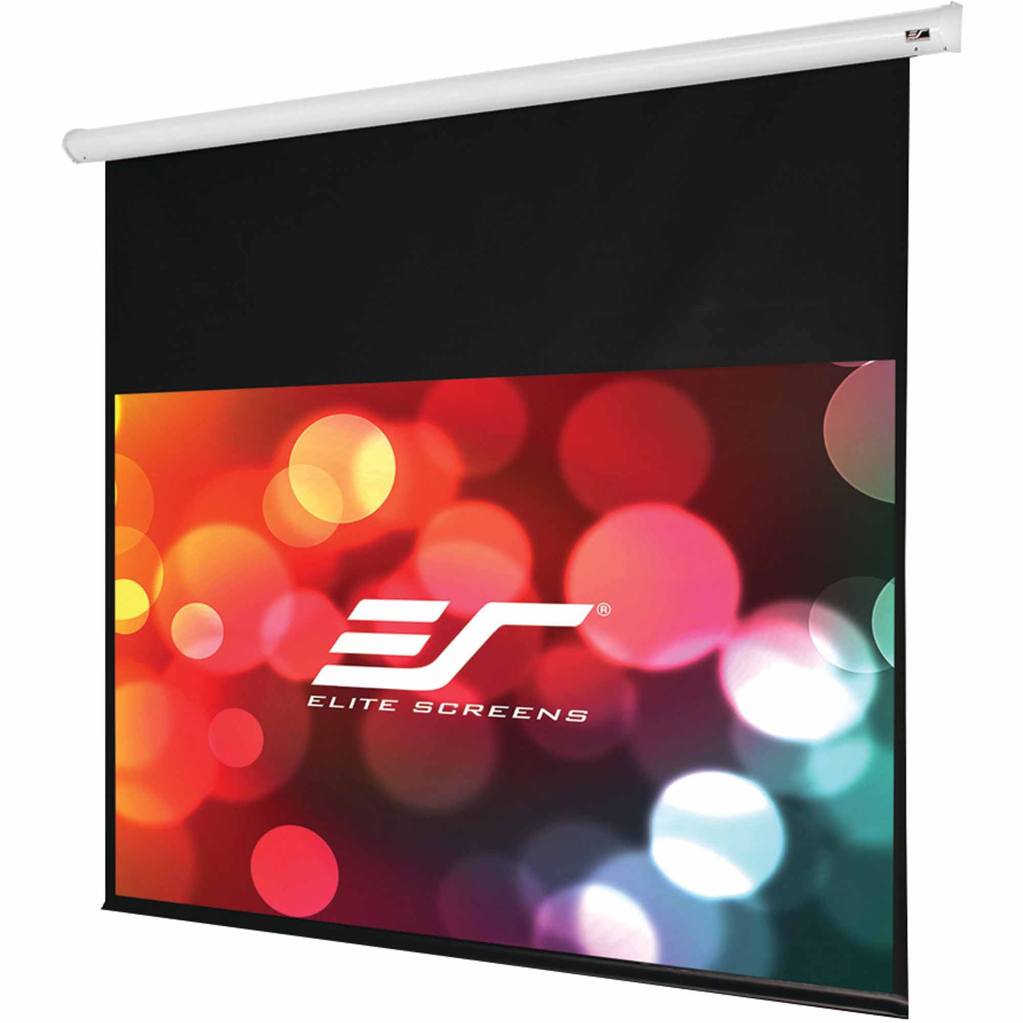 Elite Screens ST135XWH-E6 Starling Series Electric Screen, White