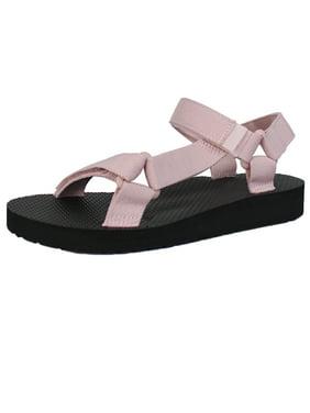 Women's Open Toe Slide Flat EVA Foam Hook and Loop Sandal (FREE SHIPPING)