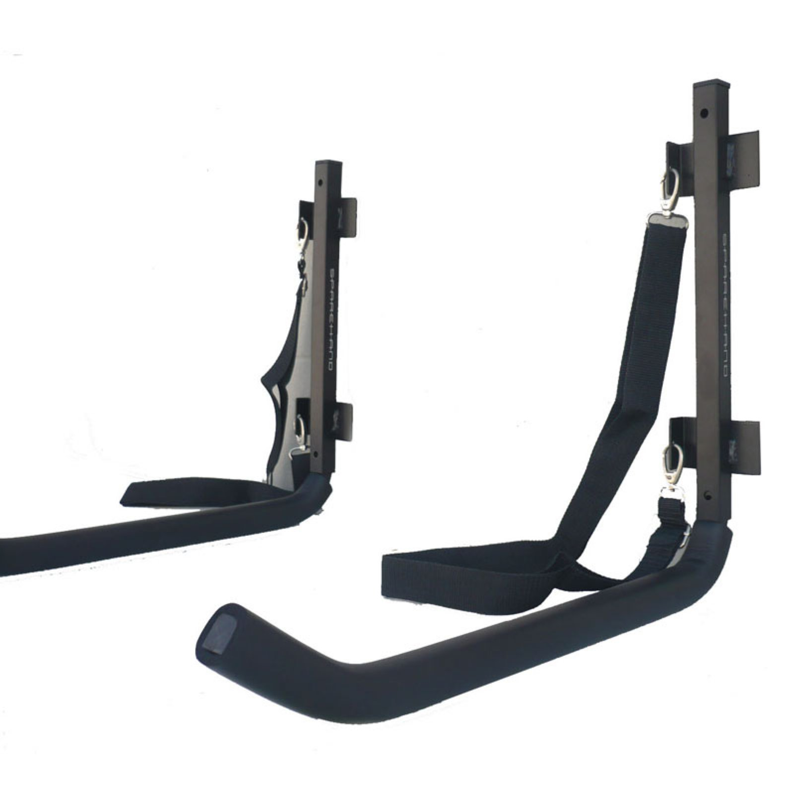 Sparehand Single Wall Mount Rack Storage with Safety Strap for 1 Kayak