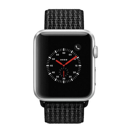 Apple Watch Series 2 - 42mm, WiFi - Silver with Black Sport Loop - Refurbished