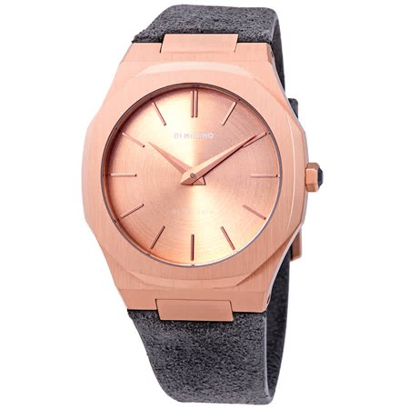 D1 Milano Ultra Thin Rose Gold Ladies Watch A-UTL03