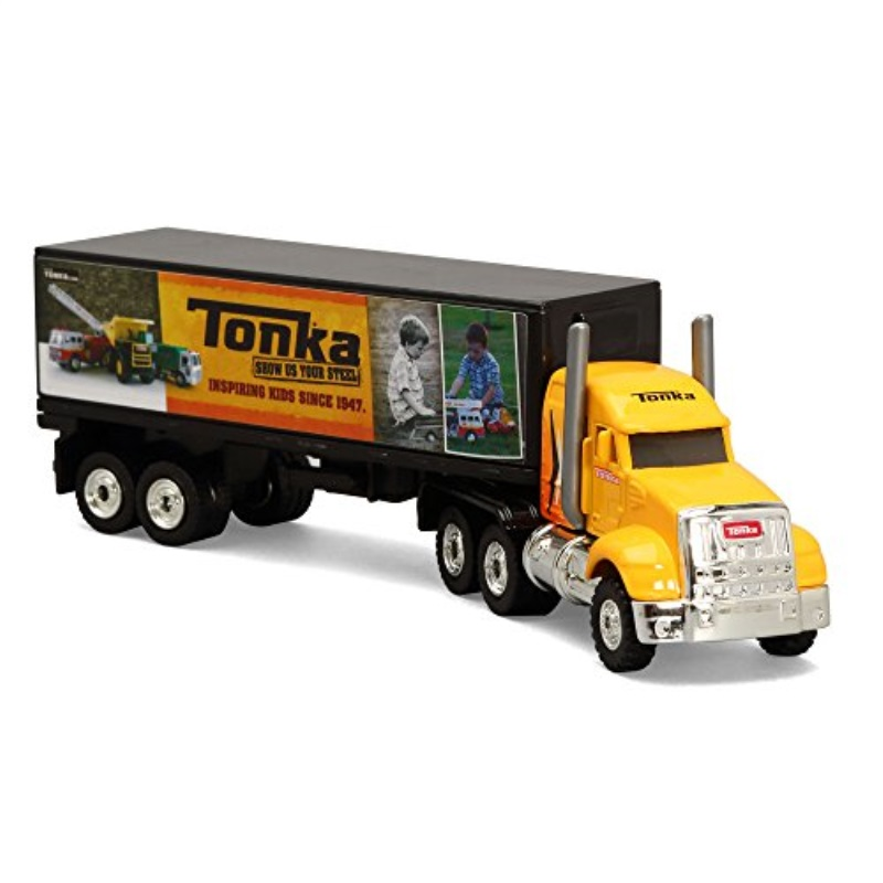 Tonka Die Cast Long Haul Box Truck