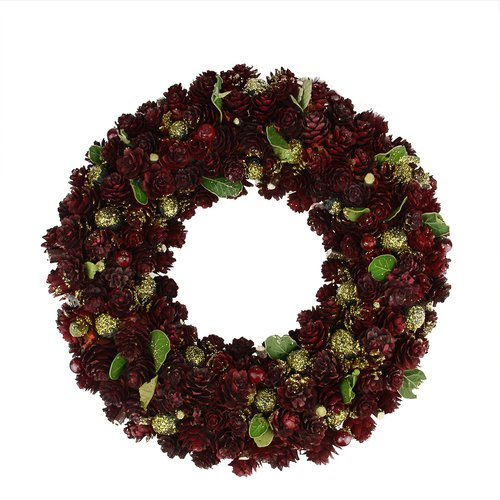 Northlight Seasonal Pine Cone Artificial Christmas Wreath