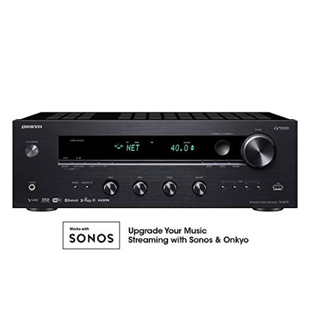 Onkyo TX-8270 Network Stereo Receiver with built-in hdmi, wi-fi, and (Best Hdmi Stereo Receiver)