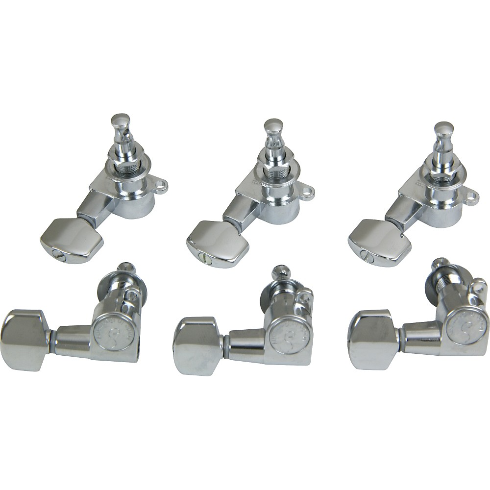 Schaller M6 Mini Tuning Machine Heads 6 In-Line