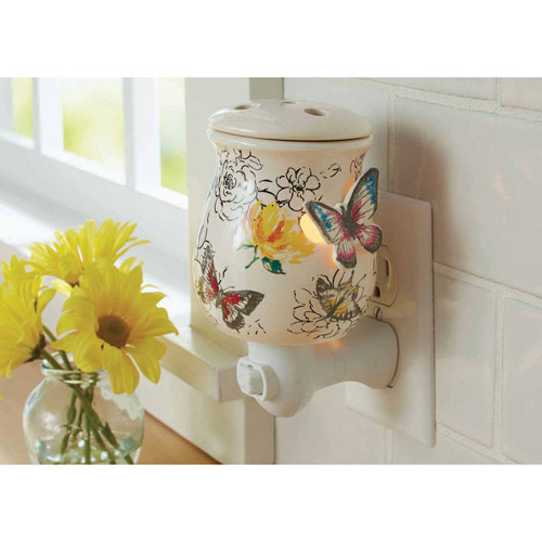 Better Homes and Gardens Accent Wax Warmer, Butterflies