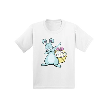 Awkward Styles Dabbing Easter Bunny Infant Shirt Easter Baby Shirt Easter Gifts for Baby First Easter Outfit Easter Holiday Shirts Easter Bunny T Shirt for Baby Easter Basket Stuffers Easter Dab Shirt (Easter For Toddlers)
