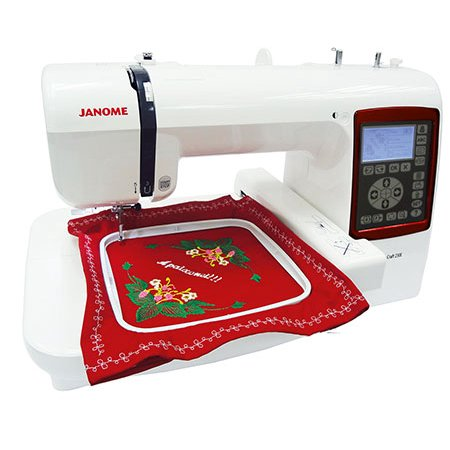 Cow 2 Embroidery (Janome 230e Embroidery Only Sewing Machine )