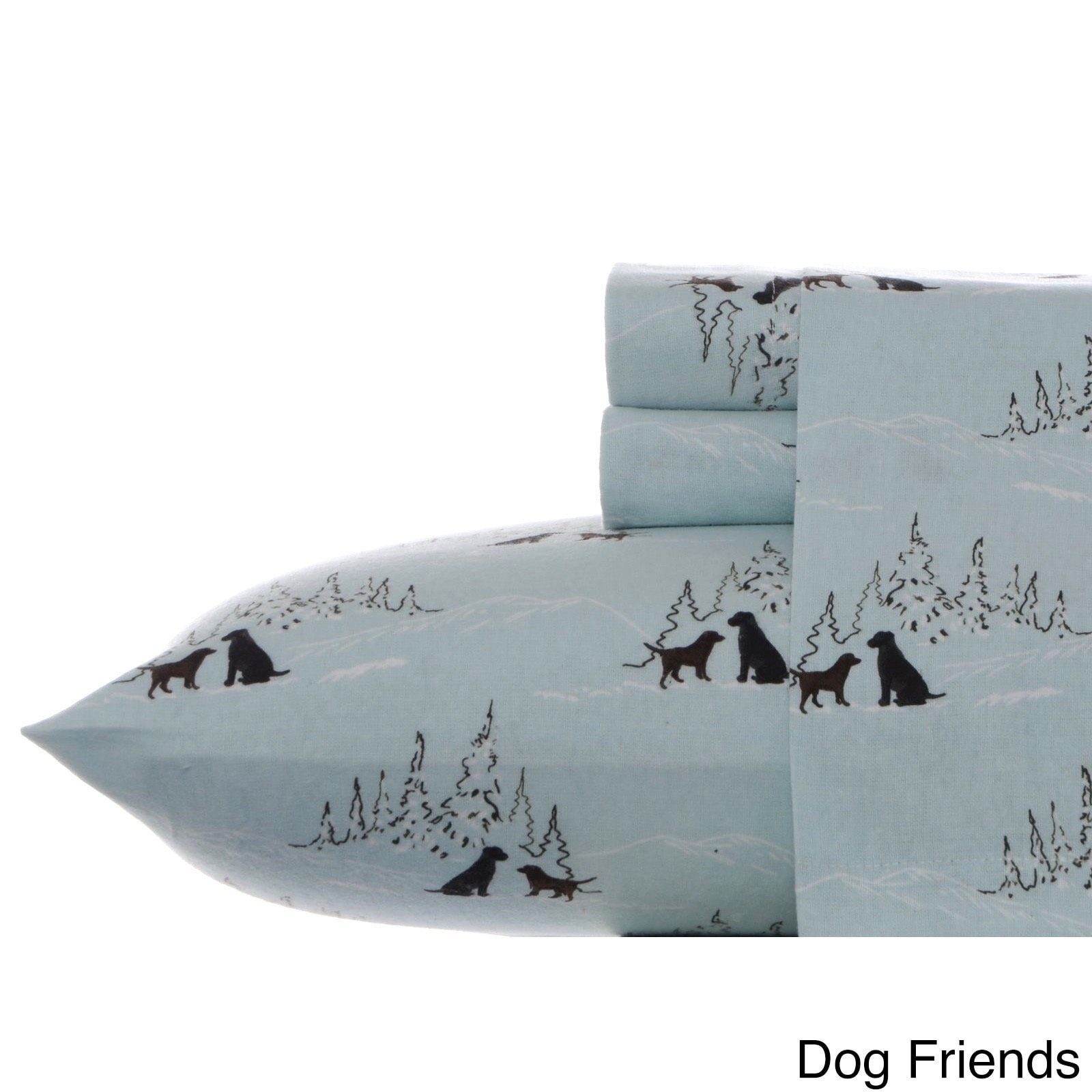 Eddie Bauer Dog Friends Flannel Sheet Set Walmart Com Walmart Com