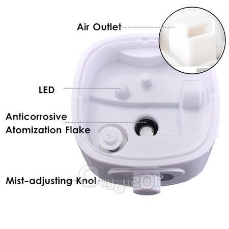 1.5L Home Aroma Humidifier Air Diffuser Purifier Lonizer Atomizer,Essential Oil Diffuser - image 1 of 10