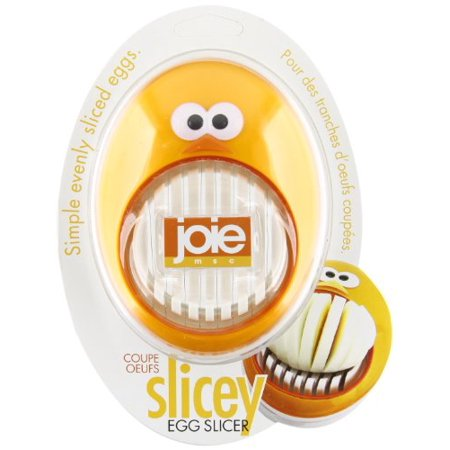 Joie Slicey Hard Boiled Egg Slicer & Cutter (Recipes With Hard Boiled Eggs)