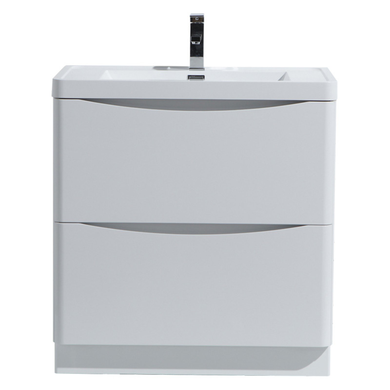 Morenobath smile 24 in free standing single sink bathroom - Walmart bathroom vanities with sink ...