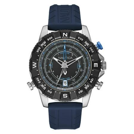 Temp Compass Mens Watch - NAUTICA MEN'S WATCH NSR 103 TIDE TEMP COMPASS 46MM