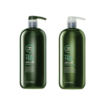 ($71 Value!) Paul Mitchell Tea Tree Special Shampoo and Special Conditioner Duo, 33.8 Oz (Value Driver Tree)