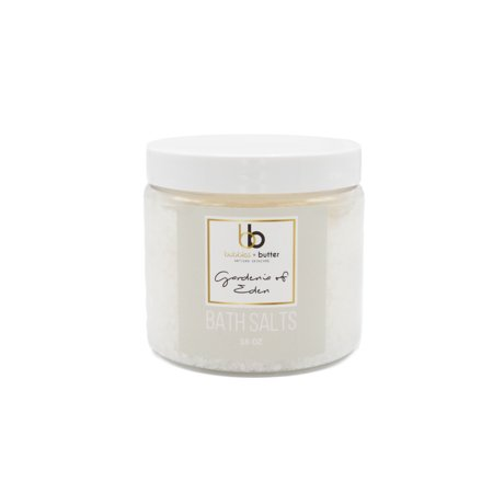 - Bubbles and Butter Artisan Skincare - Gardenia of Eden Bath Salts