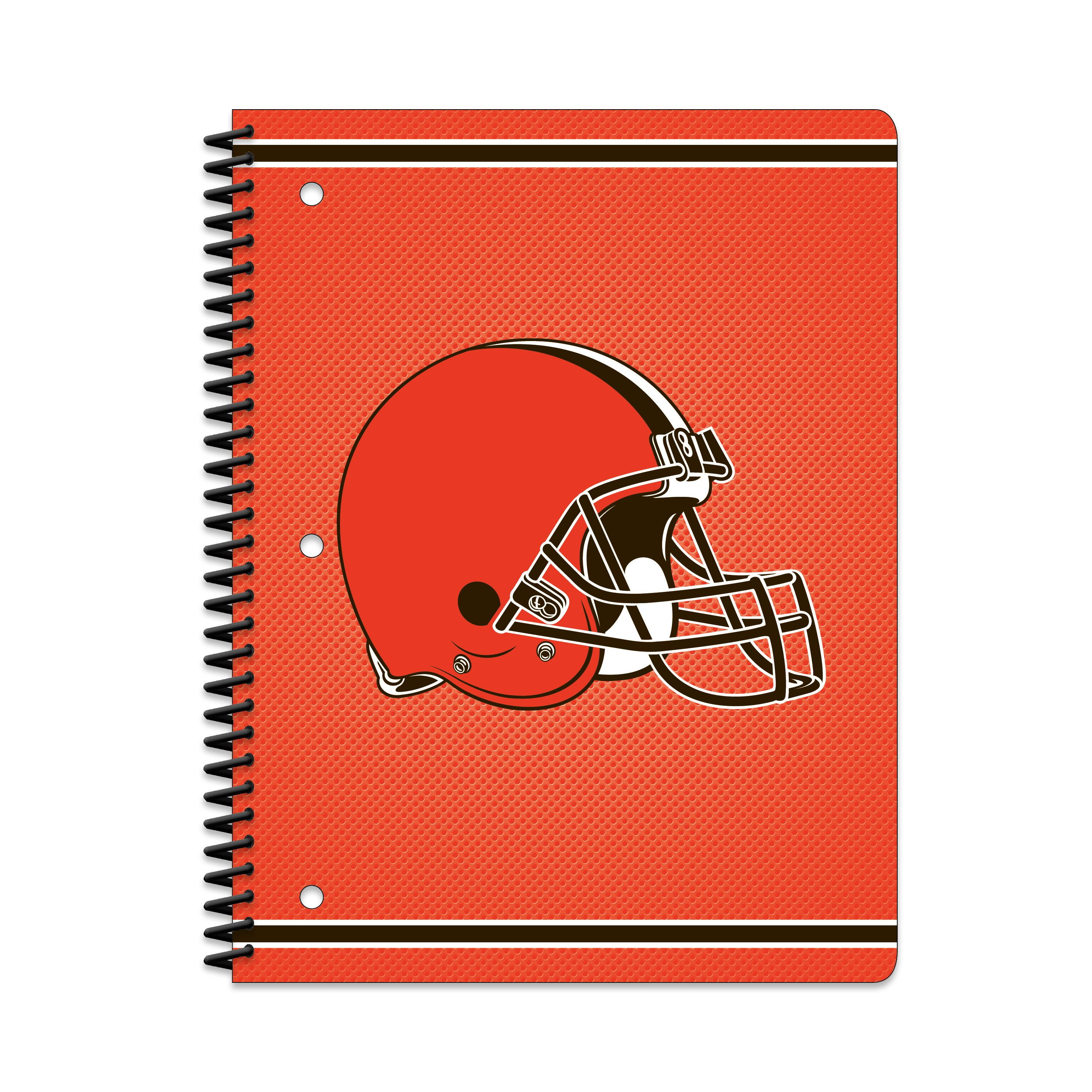 CLEVELAND BROWNS CLASSIC 1-SUBJECT NOTEBOOK