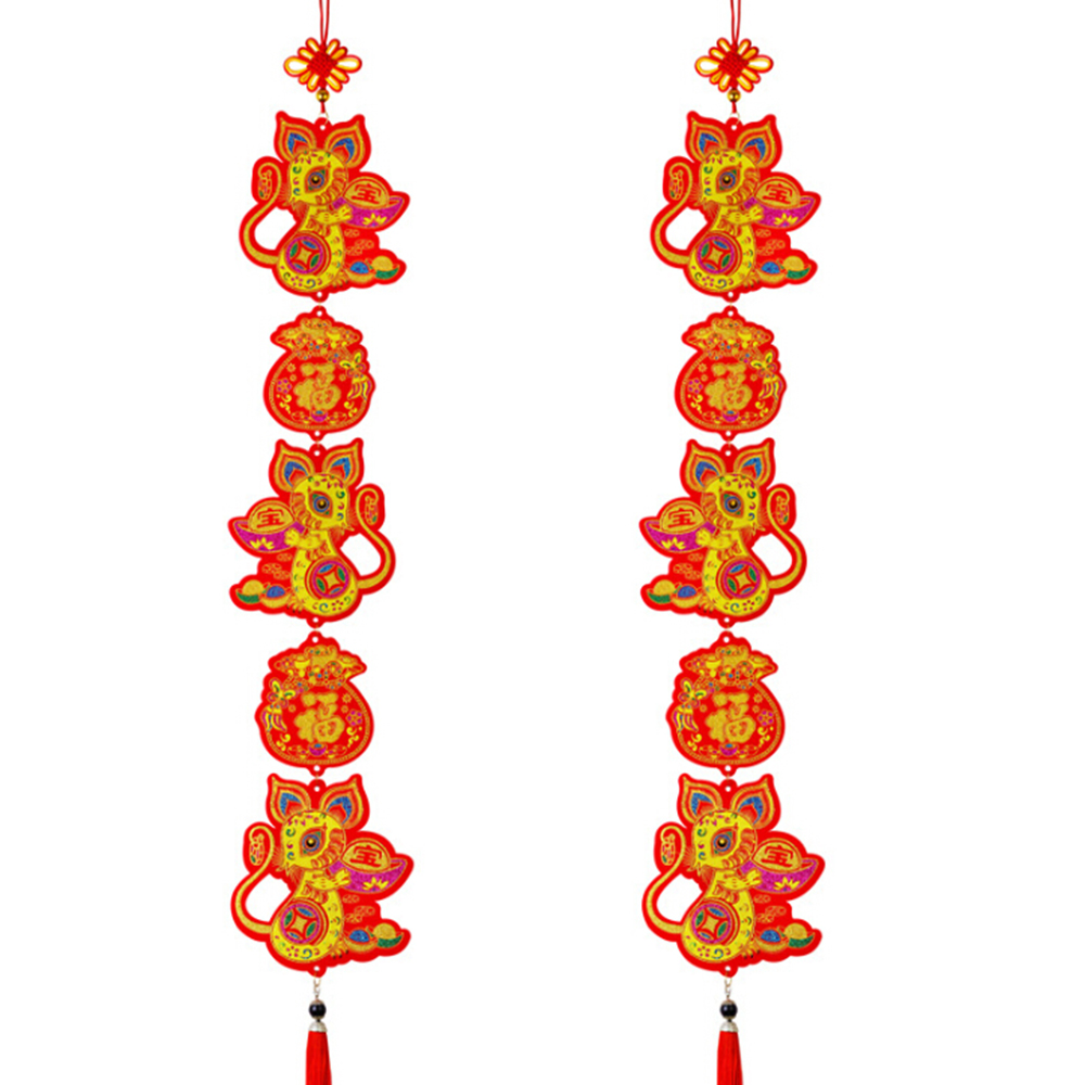 2020 Hanging Zodiac Chinese New Year Fortune Decoration ...