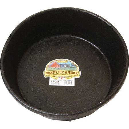 Rubber Feed Tub - LITTLE GIANT RUBBER FEED PAN