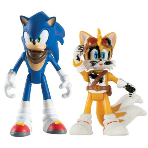 Sonic Boom 3 Action Figure 2 Pack Sonic Tails Walmart Com Walmart Com