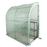 """Best Choice Products - 78"""" x 39"""" x 89"""" - Green - 3-Tier Portable Walk-In Mini Greenhouse"""