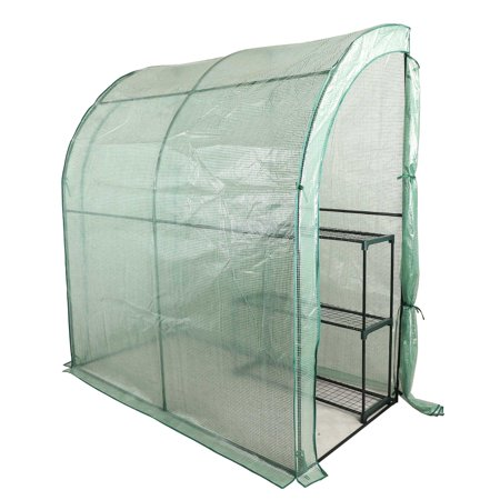 3-Tier Portable Outdoor Mini Garden Walk-In Greenhouse, 78
