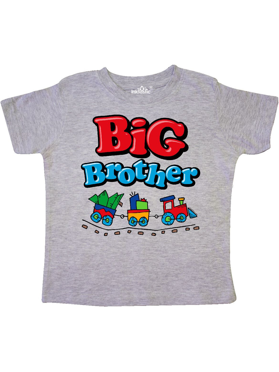 Choo Choo Big Brother Toddler T-Shirt