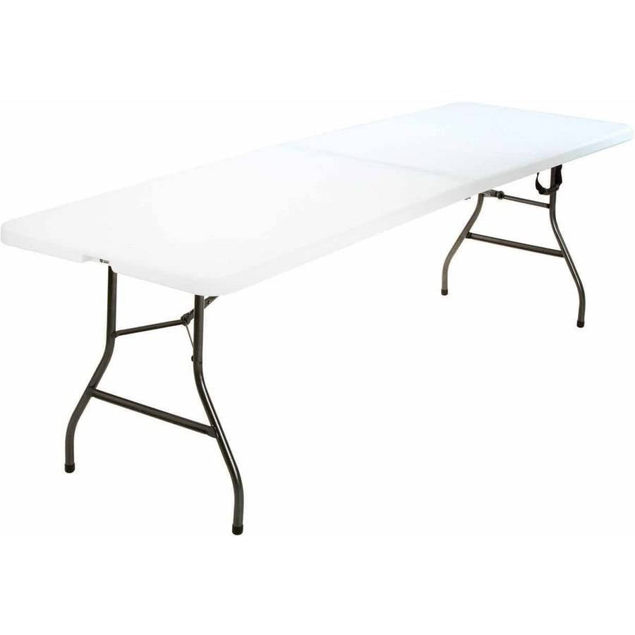 Mainstays 20 X 40 Fold In Half Table Black