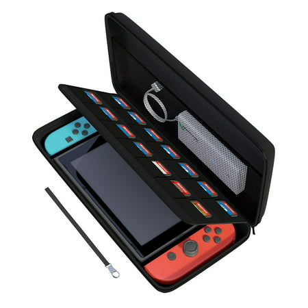 Nintendo Switch Hard Carrying Travel Case/Cover with 14 Cartridge Holders