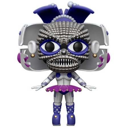 Funko POP! Games - Five Nights at Freddy's S3 Sister Location Vinyl Figure - BALLORA (Five Nights At Freddy's 4 Halloween Game)