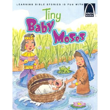 Tiny Baby Moses (The Story Of Moses The Ten Plagues)