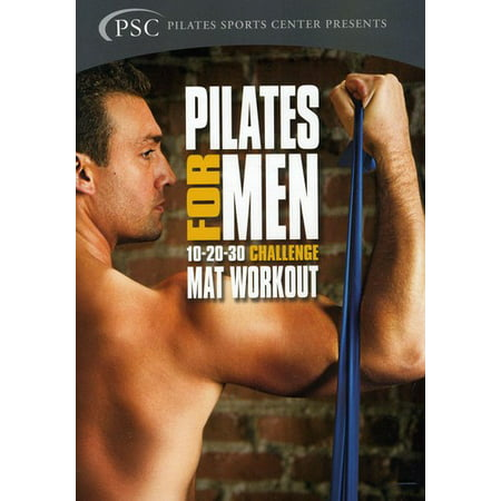 Pilates For Men  Vol  1  Challenge Mat Workout