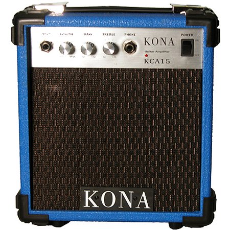 - Kona 10-Watt Electric Guitar Amplifier
