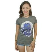 My Little Pony: Friendship is Magic Cute Luna Women's Grey T-shirt NEW Sizes S-XL