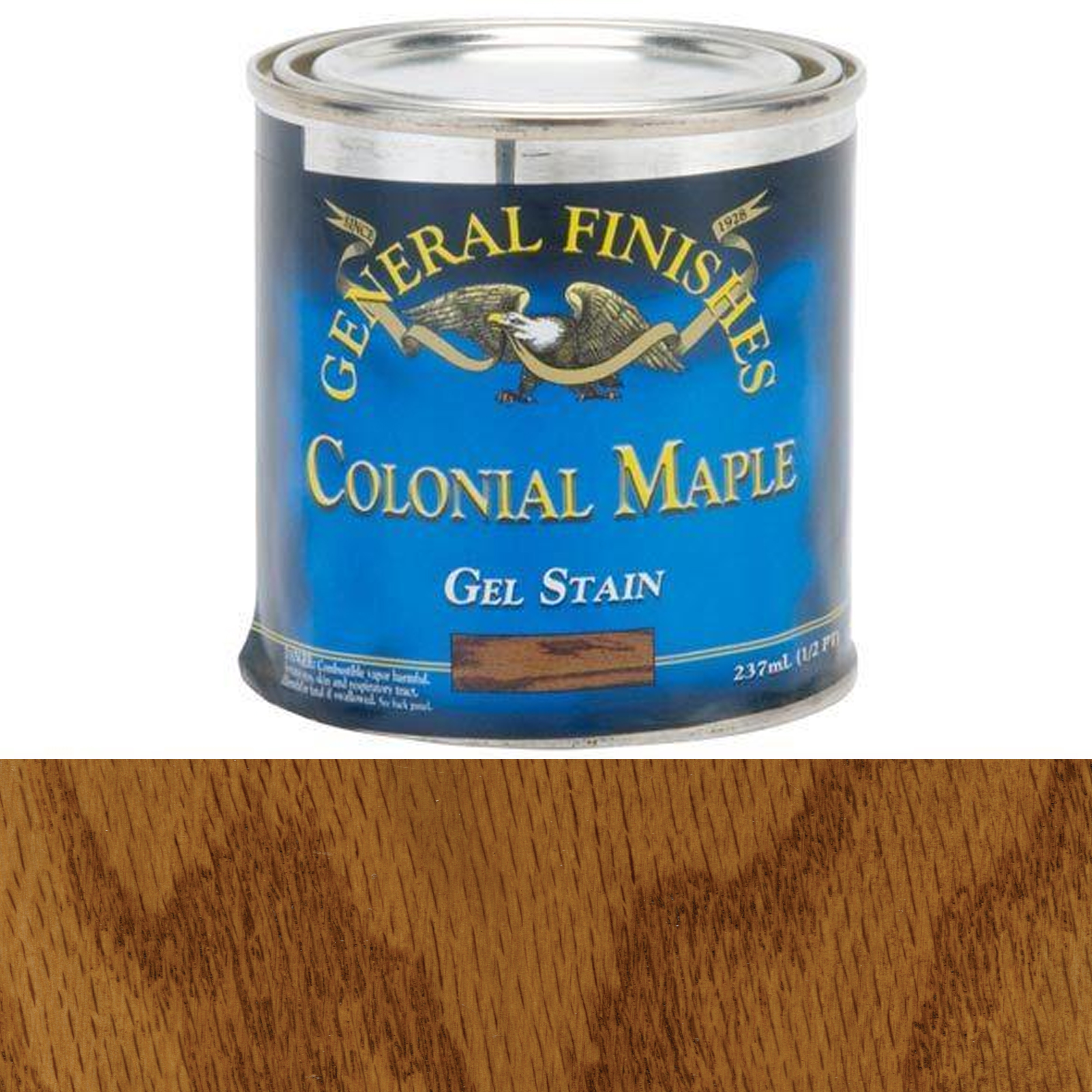 Colonial Maple Gel Stain, 1/2 Pint