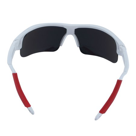 1a031fac558f ROBESBON Authorized Polarized Bike Riding Goggles Cycling Glasses White -  Walmart.com