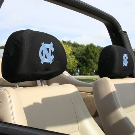 North Carolina Tar Heels (UNC) Two-Pack Headrest Covers - No Size
